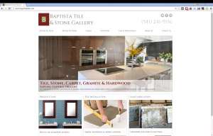 Baptista Tile Website